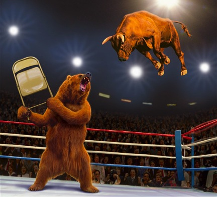 Stock Market Rollercoaster!!!
