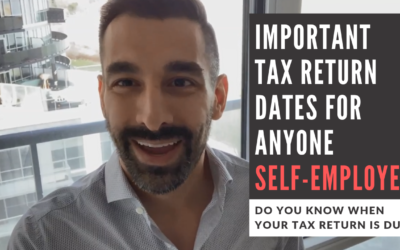 Important Tax Return Due Dates for Self-Employed Canadians