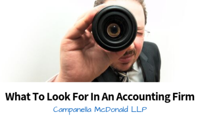 What To Look For In An Accounting Firm