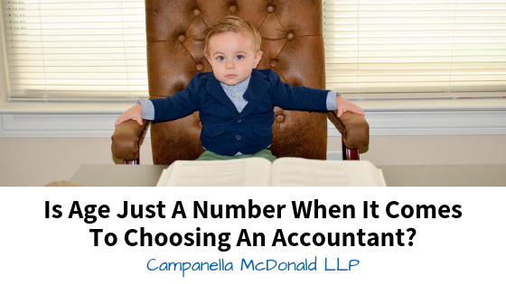 Is Age Just A Number When It Comes To Choosing An Accountant?