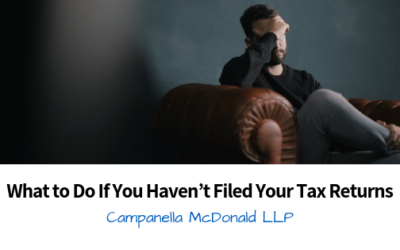 What to Do If You Haven't Filed Your Tax Returns