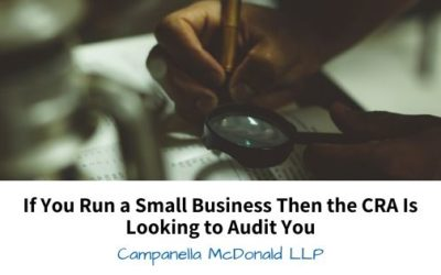 If You Run a Small Business Then the CRA Is Looking to Audit You
