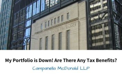 My Portfolio is Down! Are There Any Tax Benefits?
